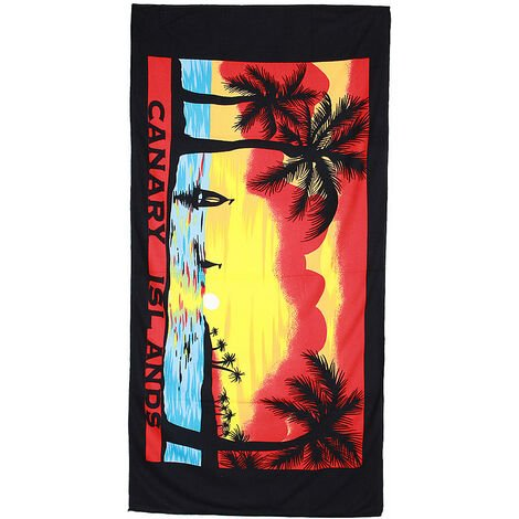 Large Microfiber Cotton Beach Bath Towel Sports Travel Camping Gym Lightweight