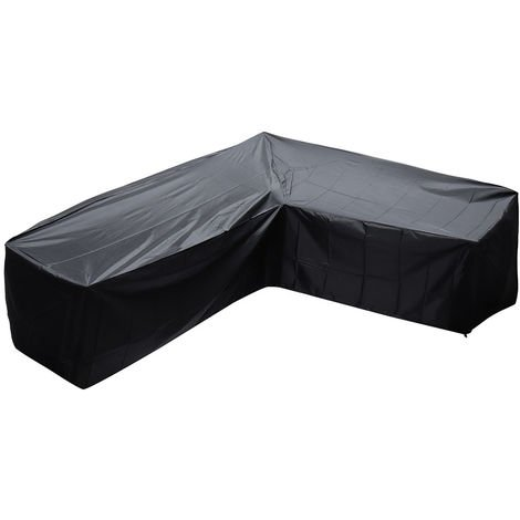 Large Outdoor Garden Sofa Skin Protector L Shape Furniture Cover