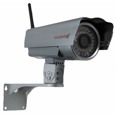 Large Real Outdoor Dummy CCTV Camera - RED LED [LRDC-103]