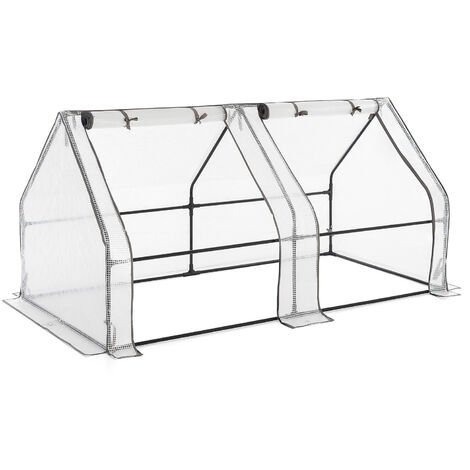 Large Reinforced Grow Tunnel Greenhouse