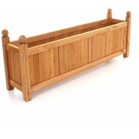 "main image of ""Stylish Wooden Planter"""