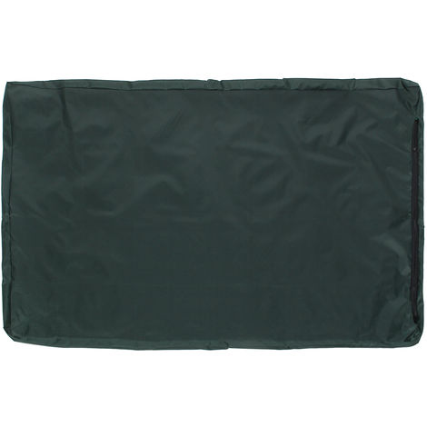Large Waterproof Bed & Dog Cover Washable Cushion Cover For Pet Cat Mat Green Cushion