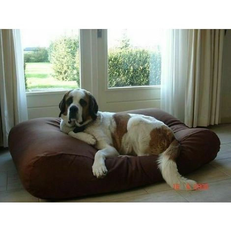 Large Waterproof Bed & Dog Washable Cushion For Pet Cat and dog Mat brown Cushion