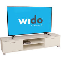 Large White TV Cabinet