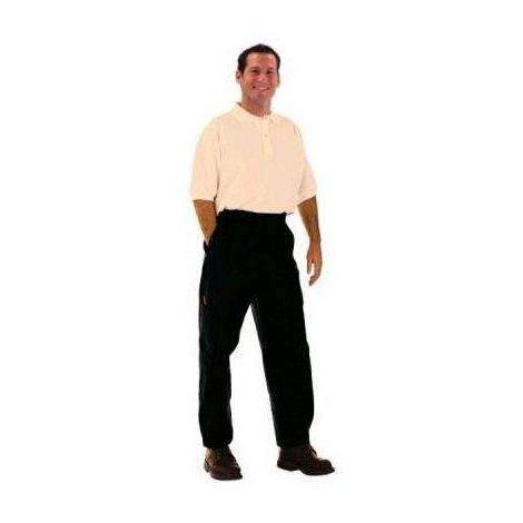 LARGEOT Pantalon de travail avec genouillères spécial charpentier et couvreur MDH