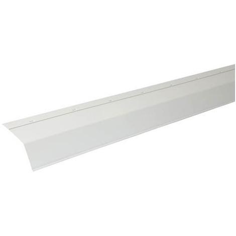 Larmier PVC 18 cm en 2m