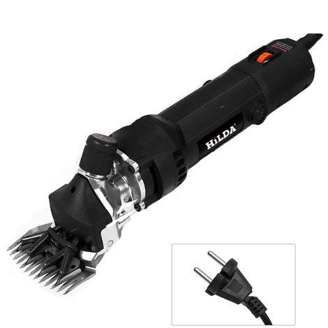 Las ovejas 680W 220V 6 Engranajes velocidad electrica Herramienta de recorte maquina de corte de lana de cabra tijera de corte de la maquina, con la caja, negro
