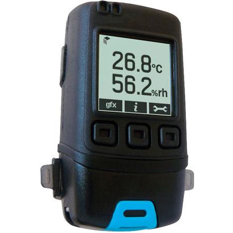 Lascar EL-GFX-2 Temperature & Humidity Data Logger with Graphic LCD Display