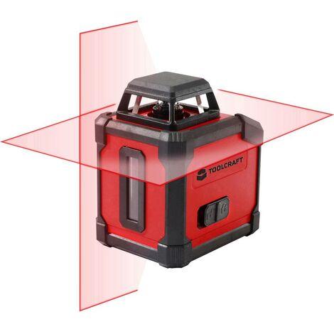 Laser à lignes360° autonivelant;TOOLCRAFT;HLL360;Portée (max.): 20 m;Etalonnage: dusine (sans certificat)