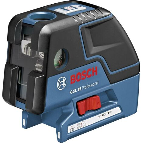 Laser à points Bosch Professional GCL 25 0601066B00 autonivelant 1 pc(s)