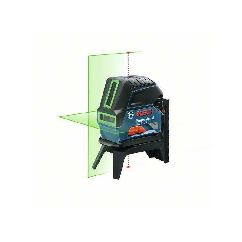 Bosch Laser lignes GCL 2-15 G avec verts Laser lignes