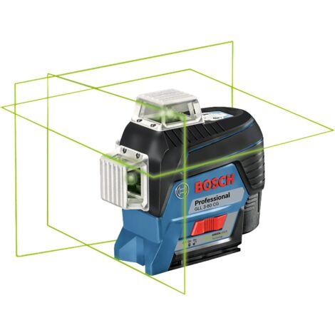 """main image of """"Laser BOSCH GLL 3 80 CG BM1 360? 3 plans visibilit? gr?ce a la couleur verte 3 x 360? en L BOXX 0601063T00"""""""