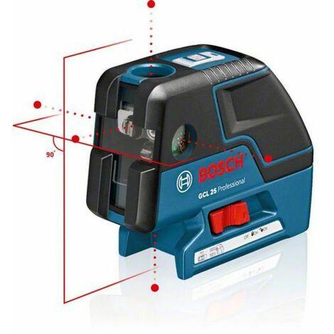 Laser combiné GCL25 Professional + Trépied BT 150 1/4 BOSCH 0601066B01