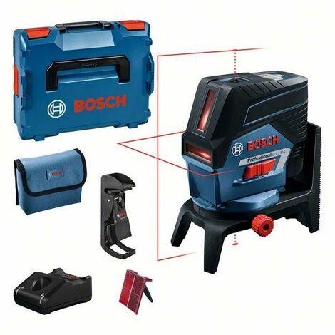 Bosch Professional Laser points et lignes GCL 2-50 C dans une L-BOXX, avec 1 batterie 2,0 Ah Li-Ion, pack d'accessoires - 0601066G03
