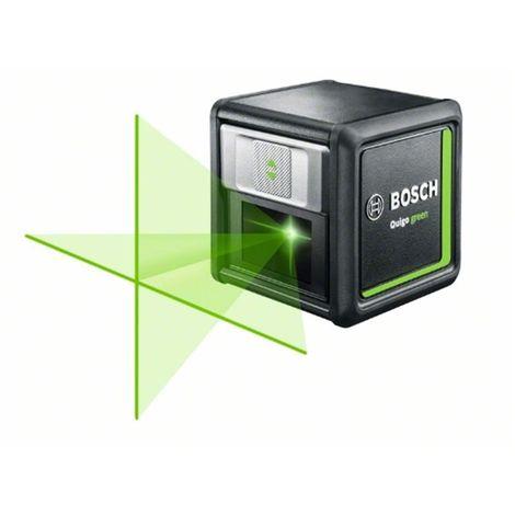 Láser de líneas cruzadas Quigo green BOSCH 0603663C00