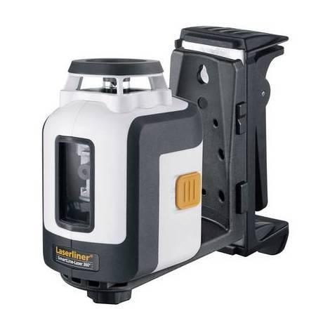Laser en croix autonivelant Laserliner SmartLine-Laser 360° Plus Set 081.119A Portée (max.): 30 m Etalonnage: dusine (sans certificat)