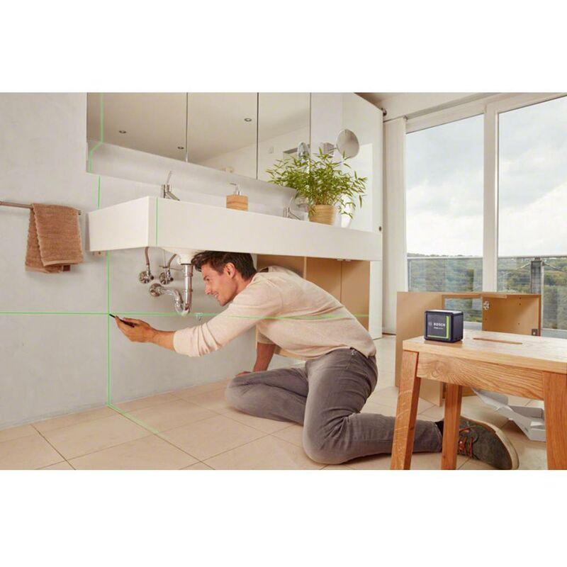 Bosch Home and Garden Croix Ligne Laser Quigo Green Beam NEUF ET Neuf dans sa boîte