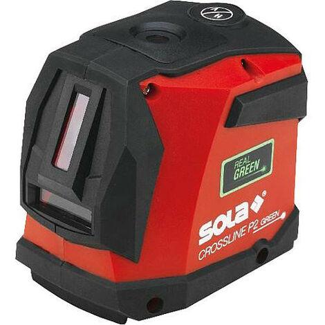 Laser en croix SOLA avec laser vert IP54