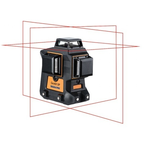 Laser GEO-FENNEL Multi-fonctions pour tous types de travaux en intérieur - Geo6X SP Kit - 534100