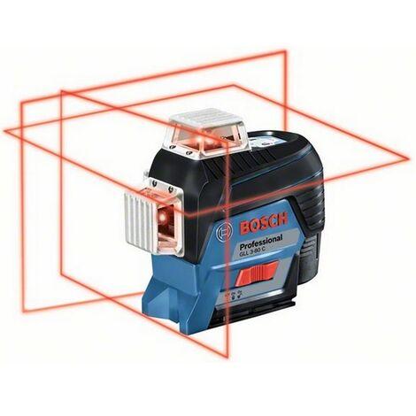 Laser GLL 3-80C + support BM 1 Lbox Bosch