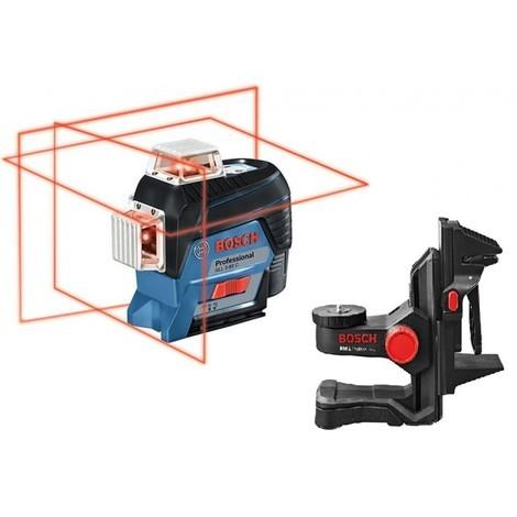 Laser ligne GLL 3-80 P ŕ batterie + support BM1 Plus + coffret L-BOXX