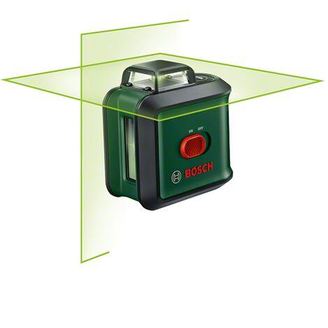 Laser lignes Bosch à 360° - PLL 360 Edition basic (Livré avec housse de protection, support universal, outil de mesure de fonction horizontale à 360 degrés)