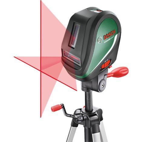 Laser lignes Bosch - UniversalLevel 3 Set (Livré avec trépied 1,1m, piles et poche)