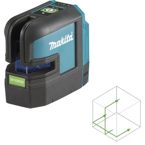 Makita-Croix-lignes laser sk104z croix lignes laser matériel//Electronic Mak NEUF