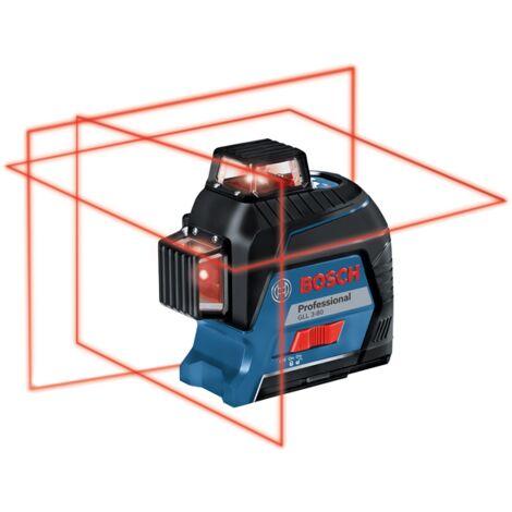 Laser lignes rouge GLL 3-80 | 0601063S00 - Bosch
