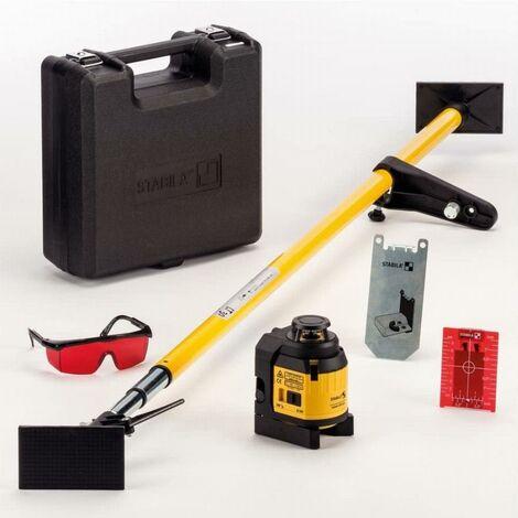 Laser multiligne STABILA LAX 400 - avec barre télescopique laser LT 30 - 18863
