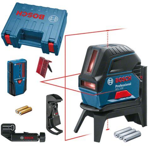 Laser points et lignes GCL2-50 + Cellule LR6 | 0601066F01 - Bosch