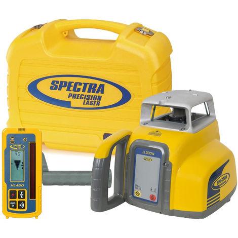 Laser rotatif horizontal automatique - Spectra - LL300N-4