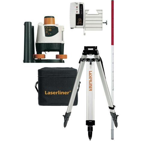 Laser rotatif Laserliner BeamControl-Master 120 026.04.00A avec trépied Portée (max.): 120 m 1 set
