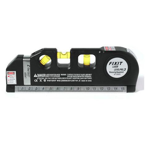 Laser spirit level measurement Infrared ruler with battery