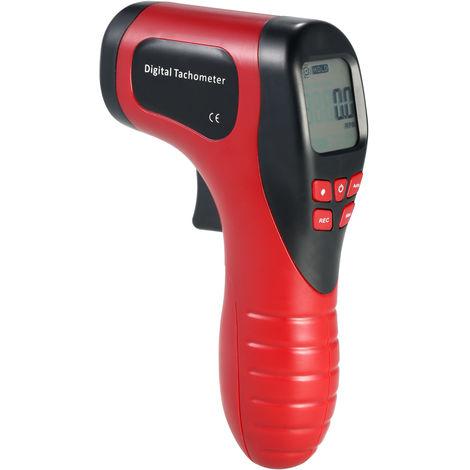 Laser-Tachometer, TL-900 rot, wird ohne Batterie geliefert