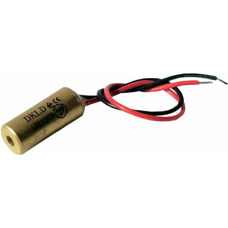 Laserfuchs 70103984 Red Class 2 Laser 10m 1mW 3-12VDC 25mA 650nm Wavelength