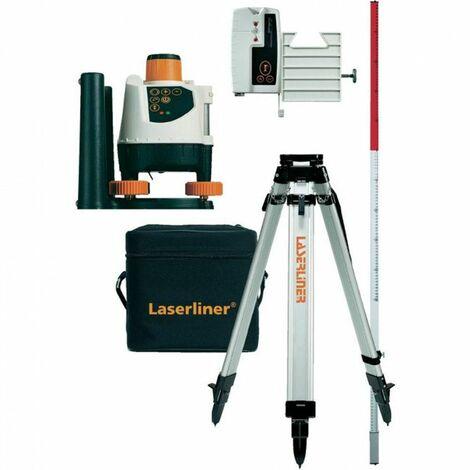Laserliner BeamControl-Master 120 Juego de Láser rotatorio incluido trípode y receptor - 120 m