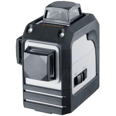 Laserliner CompactPlane-Laser Línea de láser cruzada 3D en estuche - 360 ° - 3 líneas - 15m