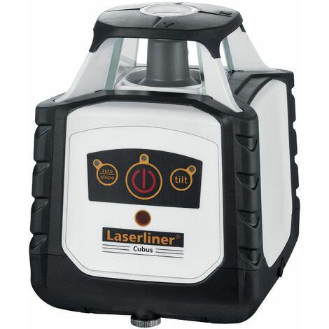 Laserliner Cubus 110 S Juego de láser de rotación en maletín con receptor incluido- 100m