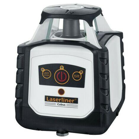Laserliner Cubus 110 S Set de laser rotatif en cofret - Récepteur inclus - 100m