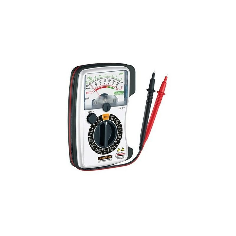 Image of 083.030A Multimeter Analogue - AC/DC Voltage Tester - Laserliner