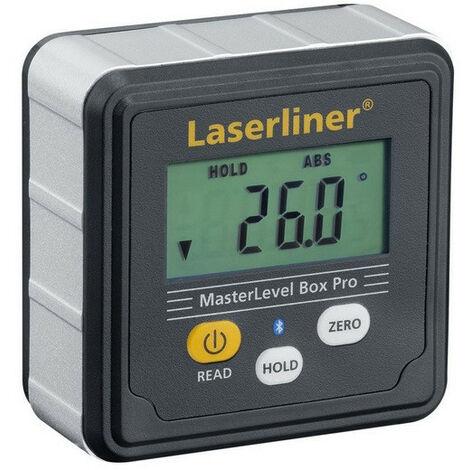 Laserliner - Niveau à bulle électronique digital interface Bluetooth - MasterLevel Box Pro