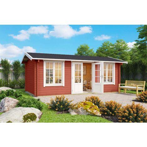 Lasita Maja Gartenhaus Pembrokeshire, ohne Imprägnierung