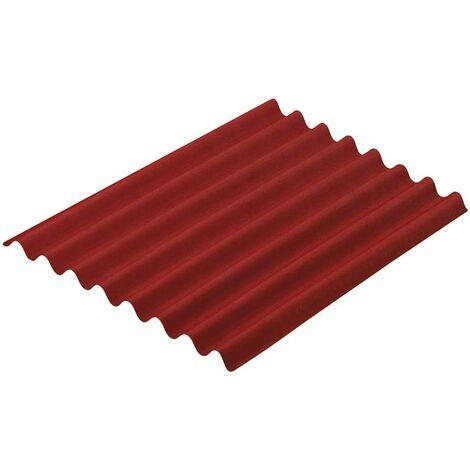 LastrA Easy Line OndulinE Rosso - 100xH76 cm. Spessore 2,6 mm 1 PEZZO