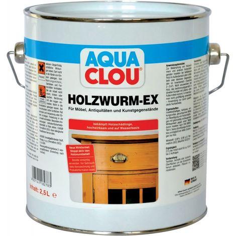 Lasur madera-Ex 2,5l AQUA clavo (por 3)
