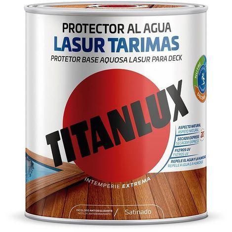 Lasur Tarimas antideslizante al agua satinado Titanlux