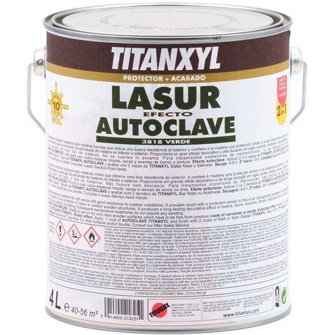 Lasur Titanxyl Efecto Autoclave