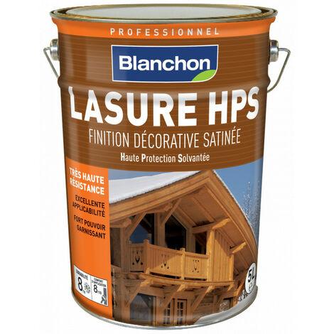 Lasure Bois Extérieur BLANCHON HPS satinée haute protection solvantée