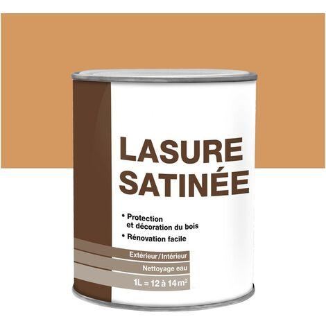 """main image of """"Lasure bois extérieure/intérieure satinée en phase aqueuse 1L"""""""
