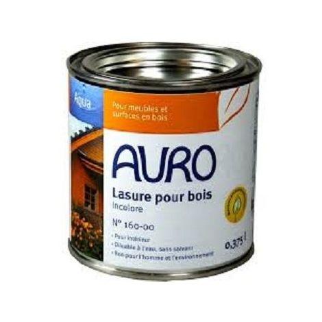 Lasure diluable à l'eau sans solvant (Aqua) n°160 - AURO (Coloris : Mahagoni)